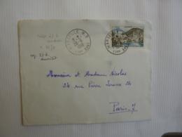 """Messageries Maritimes CARGO"""" LES GLIERES """"Envoyé De MARSEILLE  1958   Vers Paris FEV 2019 Abl7 - Marcofilie (Brieven)"""