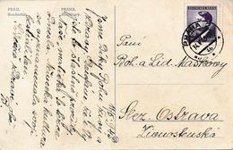 BuM (IMG1660) - Böhmen Und Mähren (1945) Praha 2 (new Czechosl. Postmark !!!) (postcard); Tariff: 0,60 K (14.V.1945 !!!) - Böhmen Und Mähren