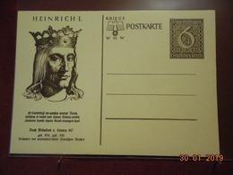 Entier Postal D Allemagne Illustrée - Deutschland