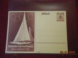 Entier Postal D Allemagne Illustre De 1936 - Briefe U. Dokumente