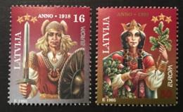 LATVIA - MNH** - 1995 -  # 414/415 - Lettonie