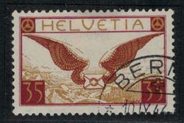 Suisse // Schweiz // Switzerland // Poste Aérienne  // 1929 // Timbre No. 14 Oblitéré - Poste Aérienne