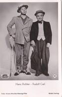 Hans Richter & Rudolf Carl - Acteur - Cinéma - Artisti