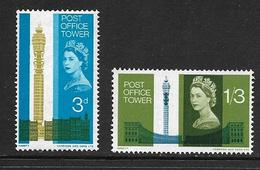 GRANDE-BRETAGNE 1965 TOUR DES POSTES  YVERT N°415/16  NEUF MNH** - 1952-.... (Elizabeth II)