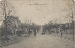 Carte Postale Ancienne De Nantes Le Boulevard Lelasseur - Nantes