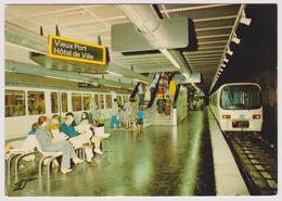 13 - LE METRO DE MARSEILLE - La Station Vieux Port - Hôtel De Ville ... - Editions La Cigogne N° 13.055.42 - Autres