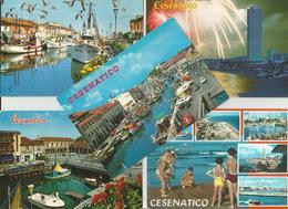 5 CARTOLINE CESENATICO  (716) - Cartoline