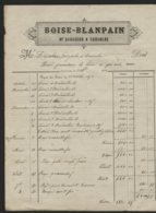1876 / COUSOLRE - BOISE BLANPAIN - Brasseur - 1800 – 1899