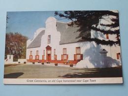 Groot Constantia, An Old Cape Homestead Near CAPE TOWN ( Allan Cash ) Anno 1959 ( See / Voir Photo ) ! - Afrique Du Sud
