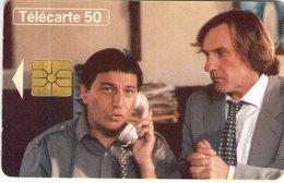 N°04 / TÉLÉCARTE 1995 CINEMA GAUMONT LES ANGES GARDIENS CHRISTIAN CLAVIER GERARD DEPARDIEU  / 50U - VOIR DOS - Cine