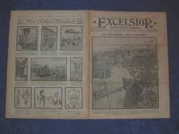 L'EXCELSIOR De 1915 N° 1639 - A La Une: LA TRANCHEE AUX FASCINES - Newspapers
