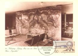 5239  Mies Van Der Rohe, Villa Tugendhat (1930) à Brno En Tchécoslovaquie - Tugendhat Chair, Onyx Wall. Functionalism - Architecture