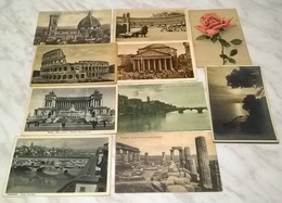 10 CARTOLINE ITALIA - VIAGGIATE INIZI 1900 (769) - Cartoline