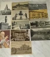 12 CARTOLINE ITALIA E NO (769) - Cartoline