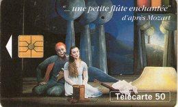 N°04 / TÉLÉCARTE 1994 LA PETITE FLUTE ENCHANTEE MOZARD 500.000 EXP  / 50U - VOIR DOS - Musique