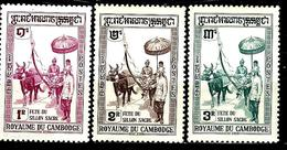 CAMBODGE 89/91* Fête Du Sillon Sacré - Kambodscha