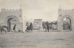 Tunis - La Porte Bab-Benat - Carte ND Phot Non Circulée - Tunisia