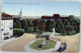 10573900 Basel BS Basel Strassburger Denkmal  X Kleinhueningen - Suisse