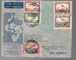 CONGO - PREMIER VOL A/R 1935   - PL5 - Congo Belge