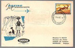 CONGO - PREMIER VOL 1960   - PL5 - Congo Belge