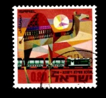 ISRAEL, 1970, Used Stamp(s), Without Tab, Railway, SG Number 441, Scan Number 17401 - Israel