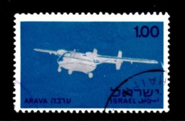 ISRAEL, 1970, Used Stamp(s), Without Tab, Aircraft Industry, SG Number 450, Scan Number 17407 - Israel
