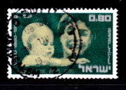 ISRAEL, 1970, Used Stamp(s), Without Tab, Woman Organisation, SG Number 461, Scan Number 17413 - Israel