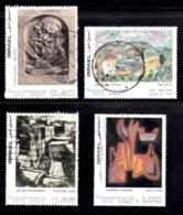 ISRAEL, 1972, Used Stamp(s), Without Tab, Jewish Art, SG Number 516=520, Scan Number 17425 4 Values Only - Israel