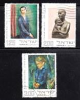 ISRAEL, 1974, Used Stamp(s), Without Tab, Art, SG Number 574-576, Scan Number 17441 - Israel