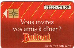 N°04 / TÉLÉCARTE 1992 SAUCES BUITONI    / 50 U - VOIR DOS - Alimentation
