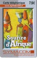 N°04 / TÉLÉCARTE SOURIRE D'AFRIQUE     / 7.50€  - VOIR DOS - Suráfrica