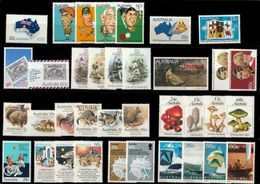 Australia - 1981 Complete Year MNH(**) - Vrac (max 999 Timbres)