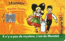 N°04 / TÉLÉCARTE 1994 MUNSTER LES PETITS AMIS 50 U  - VOIR DOS - Alimentation