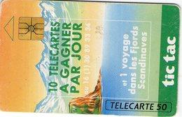 N°05 / TÉLÉCARTE 1992 BONBON TIC TAC   50 U  - / VOIR DOS - Alimentation