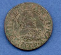 Louis XIII  --  Double Tournois 1631 E  -  état  B+ - 987-1789 Royal