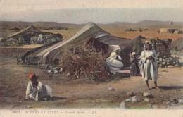 SCENES ET TYPES - Gourbi Arabe - Escenas & Tipos
