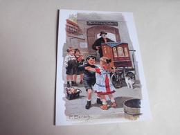 BELLE ILLUSTRATION ....BERLINER TYPEN ...TYPE BERLINOIS ..HOFBALL ..SIGNE F.BERSCH - Illustrateurs & Photographes