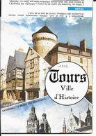 37 TOURS  Cité De DEMAIN  Dépliant  De 1982 - Tourism Brochures