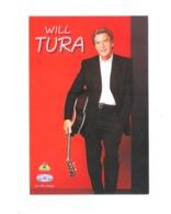 WILL TURA - FOTOKAART - RADIO 2 - PEPSI MUSIC   (10.023) - Chanteurs & Musiciens