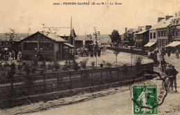 DPT 22 PERROS-GUIREC La Gare - Perros-Guirec