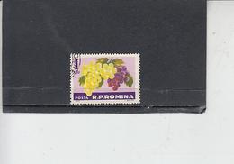 ROMANIA  1963 - Yvert 1933 - Alimentazione . Frutta - Alimentazione