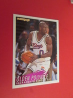 926-950 : TRADING CARD BASKET FLEER 94-95 NBA : N°199 OLDEN POLYNICE - Other Playing Cards