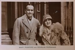 Mary Pickford And Douglas Fairbanks 19?? - Acteurs