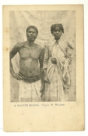 ILE SAINTE MARIE N°6 TYPES ST MARIENS ETHNIE MADAGASCAR - Madagascar