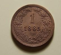 Austria 1 Kreuzer 1885 - Austria