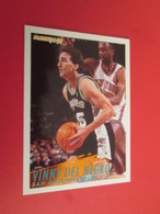 926-950 : TRADING CARD BASKET FLEER 94-95 NBA : N°207 VINNY DEL NEGRO - Other Playing Cards