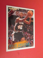 "926-950 : TRADING CARD BASKET FLEER 94-95 NBA : N°205 WILLIE ""Pamela"" ANDERSON - Other Playing Cards"