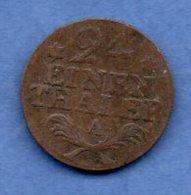 Prusse -  1 /24 Thaler 1783 A  -  Km # 296  -  état  TB - [ 1] …-1871 : Etats Allemands