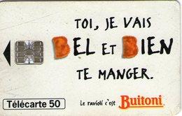 N°05 / TÉLÉCARTE 1995 RAVIOLI BUITONI     50 U  - / VOIR DOS - Alimentation