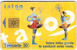 N°05 / TÉLÉCARTE 1996 TATOO  /  50 U  - / VOIR DOS - Téléphones